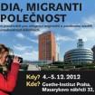 Média, migranti a společnos